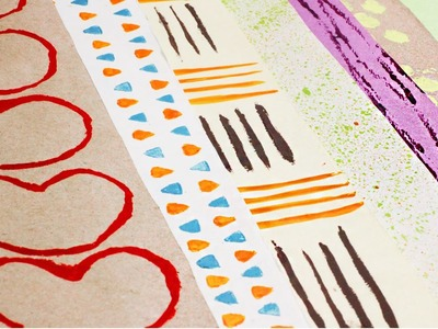 Cómo hacer Papel Deco [ papel para scrapbook ] sin imprimir