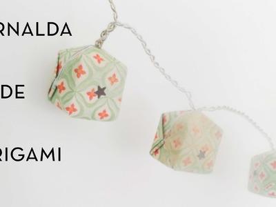 Cómo hacer una guirnalda de origami