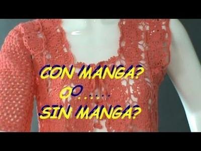 COMO TEJER UNA #MANGA #DISEÑO FACIL #GANCHILLO #CROCHET