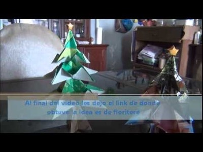 Cosas por Hacer: Pino Navidad (Origami)