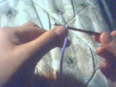 Crochet beginning (inicio con cadenas estilo crochet)