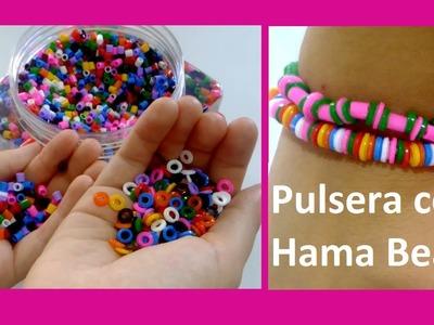 DIY Pulsera con Hama Beads :)
