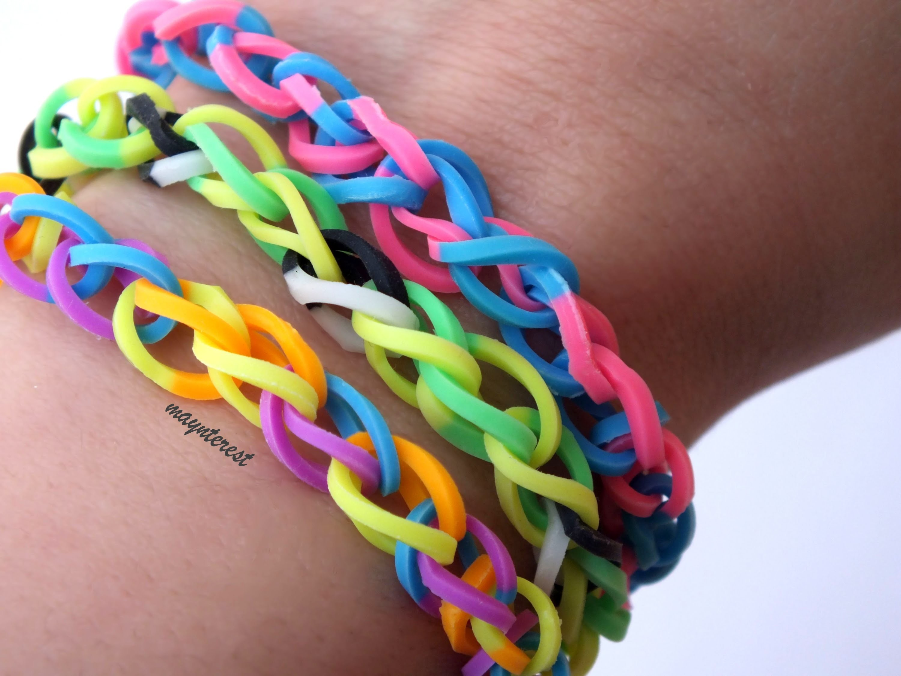 DIY | PULSERA DE GOMITAS SIMPLE