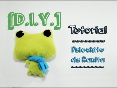 [DIY] Tutorial - Peluche de Rana.Frog Plushie