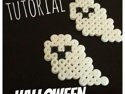 ♥ Especial Halloween: fantasma de Hama Beads ♥