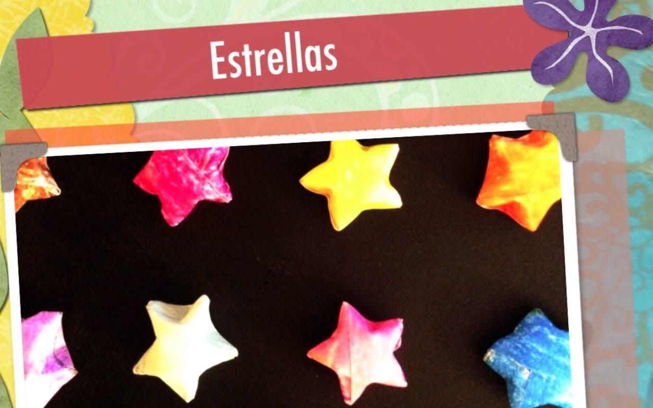 Estrella de papel-origami
