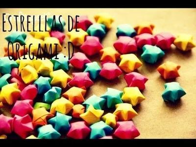 Estrellas de Origami! DIY | El Baul de Carmencita