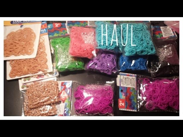 ❤ HAUL: Compra de gomitas Rainbow Loom, Marrones y Hama Beads❤
