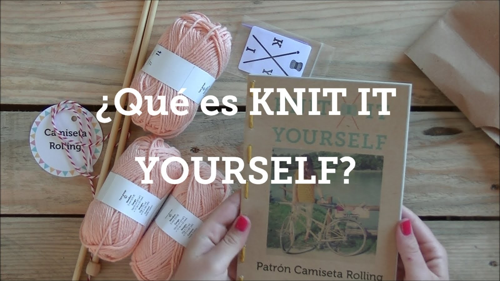 KNIT IT YOURSELF - Aprende a tejer con nosotros