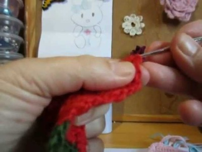 Muñeca rusa matryoshka  crochet 2.3