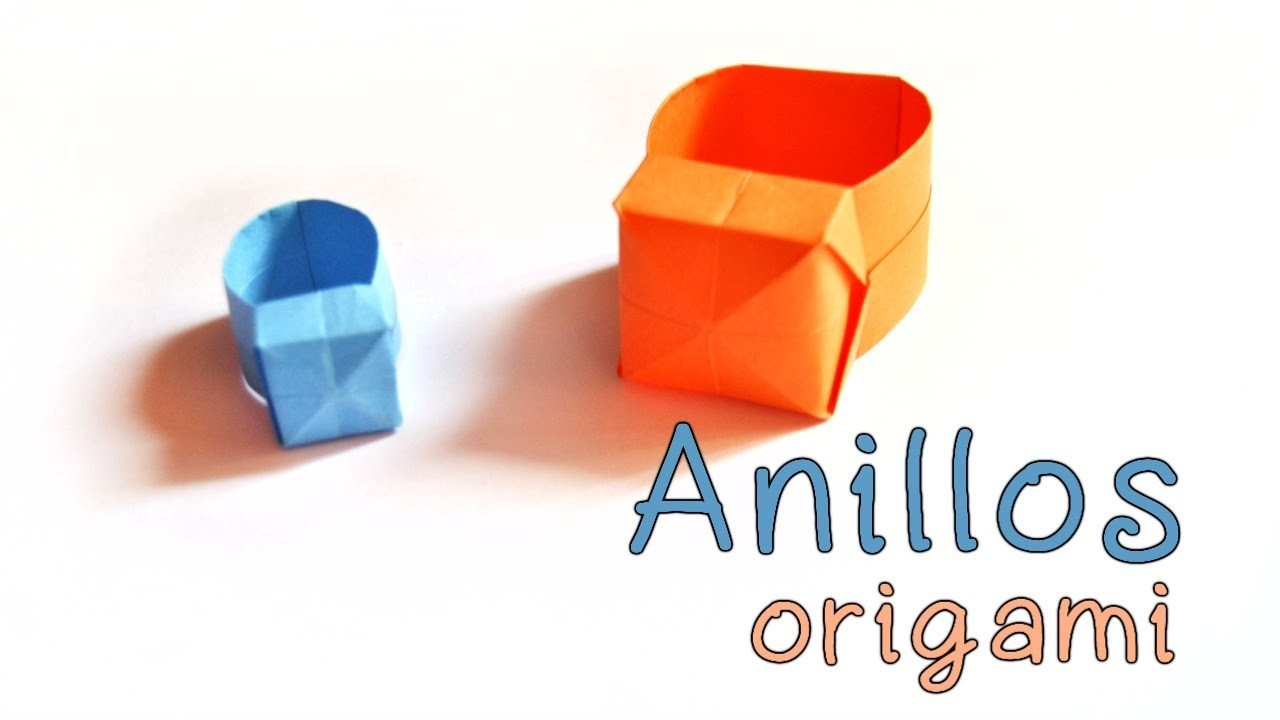 Origami: Anillos Origami | Origami Rings