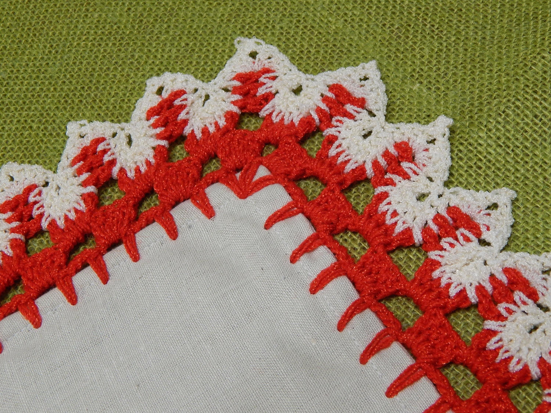 Orilla # 17 Dos Colores Crochet