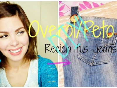 Overol.Peto.Jumper.Recicla tus Jeans.DIY-Mon