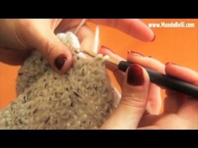 Pantufla Bota Crochet 4 de 8