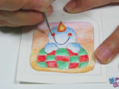 *Snowman Craft* Navidad Muñecos de Nieve 2 Manualidades de Navidad 2014 XmasTags Pintura Facil