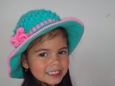 Sombrero Playero en Crochet