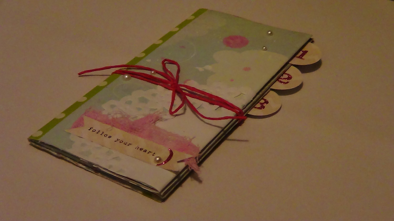 Tutorial de Scrapbooking: Mini album fácil