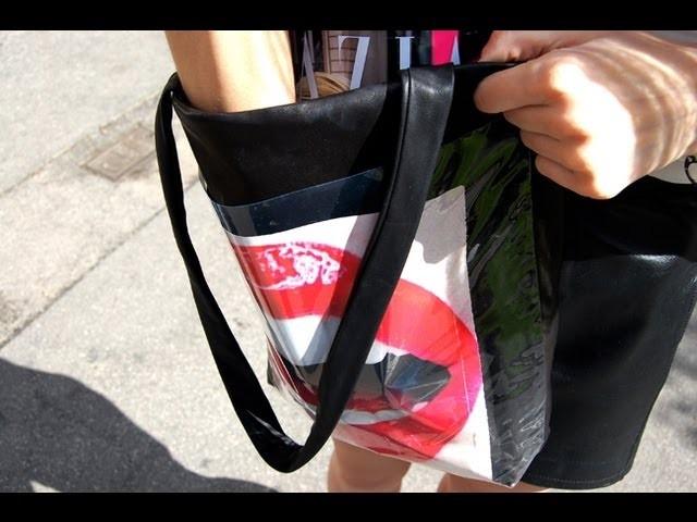 Tutorial DIY: Cómo hacer un tote bag. El bolso que cambia de color 2.0