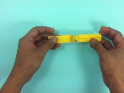 Anillo de origami - Hacer abalorios