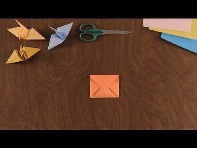 Aprende Como Hacer un Sobre en Origami : Figuras Basicas en Origami