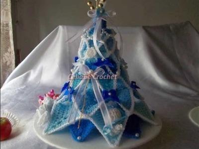Arbolito de Navidad en Crochet,paso a paso.