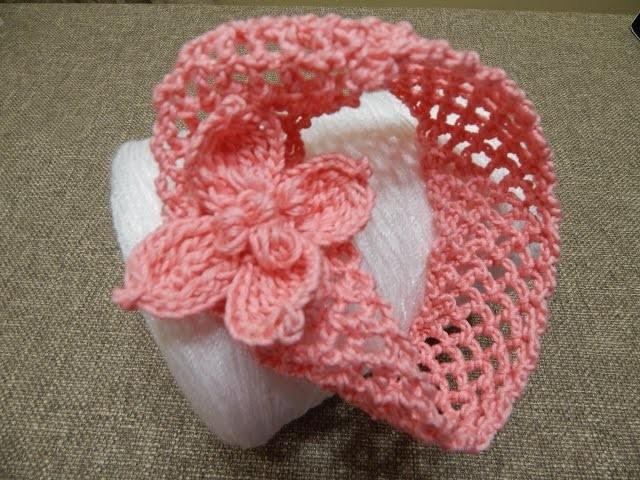 Banda para Niña Crochet