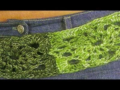 Cinturón a crochet super fácil