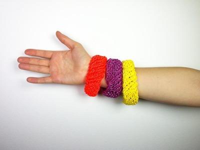 Cómo hacer brazaletes con telar circular (Tutorial DIY)