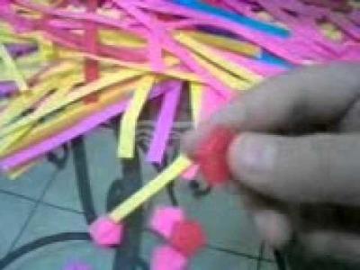 Como hacer estrellas de papel (origami)