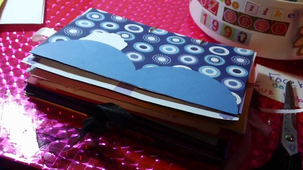 COMO HACER LOS MESES DEL MINI ALBUM SCRAPBOOK 2012(enero a junio)