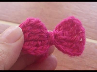 ¿Cómo hacer un Lazo a Crochet?