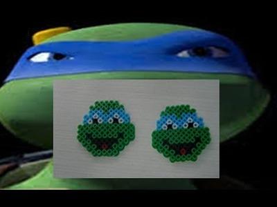 Como hacer una tortuga ninja de Hama Beads