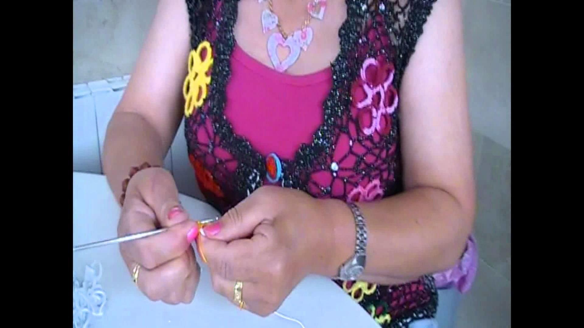Comparte tu talento: Chaleco de crochet. Parte I