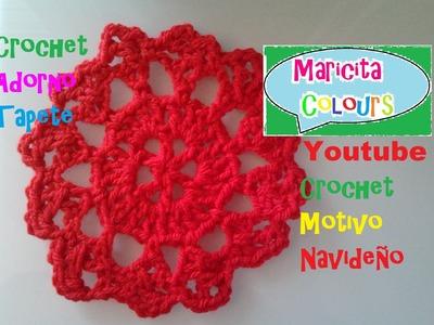 Crochet  Adorno, Tapete, Mantel