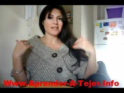 Curso: Como Aprender A Tejer A Crochet Y Con Dos Aguajas Paso A Paso