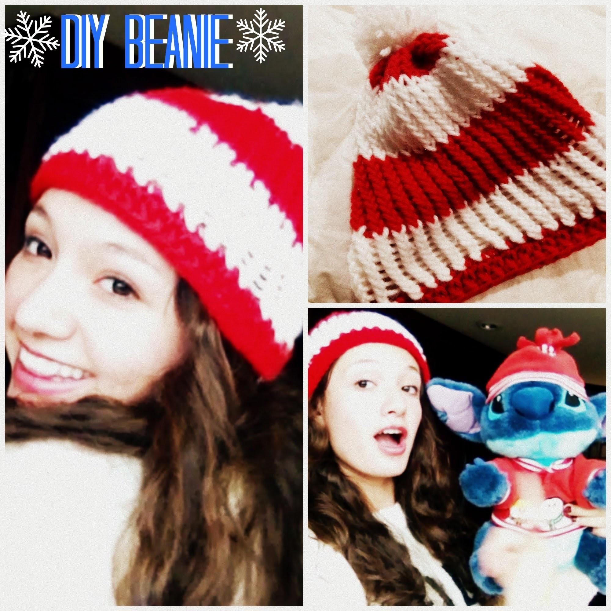 DIY Beanie! Navidad 2014!