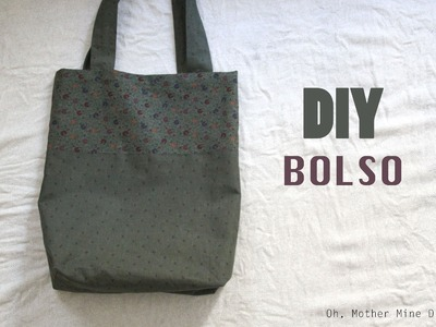 DIY Costura fácil: cómo hacer bolso dos colores