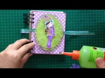 DIY notebook. SCRAPBOOK
