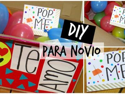 DIY POP ME - REGALO PARA NOVIO ♥