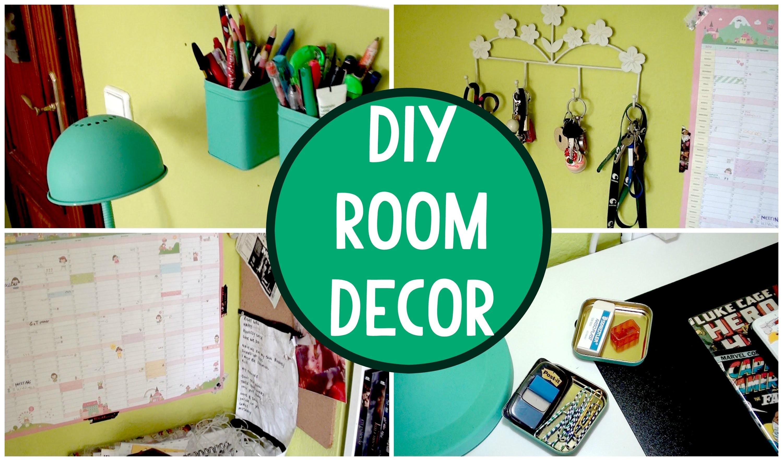 DIY: ROOM DECOR IDEAS | Gentlemenpink