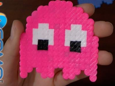 Fantasma (pinky) del come cocos con hama beads