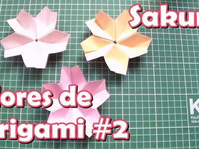 Flores de Origami # 2 Sakura