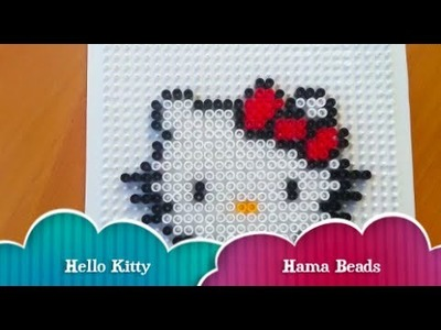 Hello Kitty Hama Beads - Manualidades para regalar