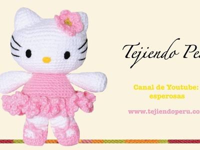 Hello Kitty tejida a crochet (amigurumi)  Parte 2: cuerpo
