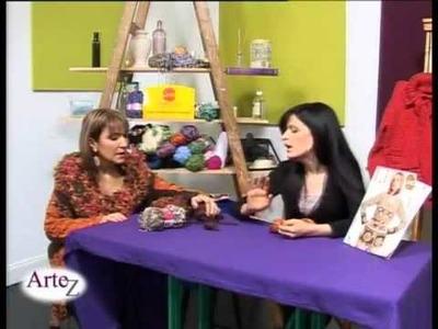 Hilados LHO en ARTEZ TV. Combinación de hilados en crochet.