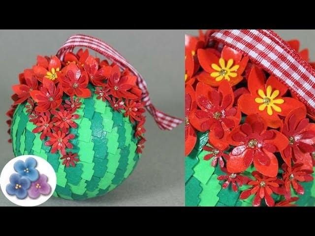 HTM Esferas Navideñas *Christmas Decorations* Adornos Navideños Manualidades Navidad Pintura Facil