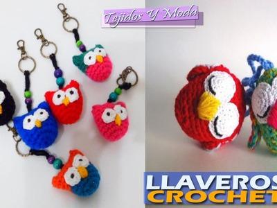 Llaveros Hermosos Para Negocio - Tejidos a Crochet