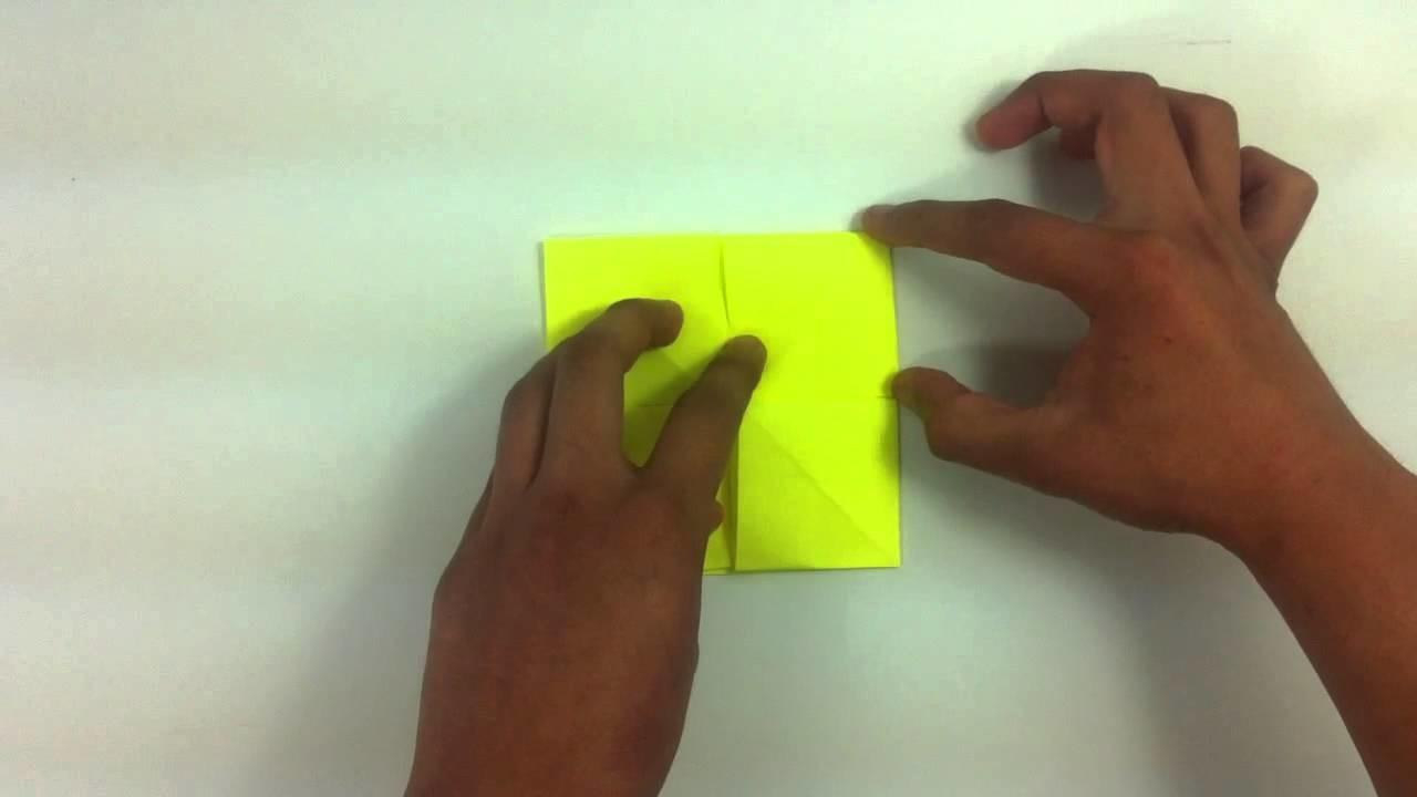 Mesa de origami - Mueble de papel