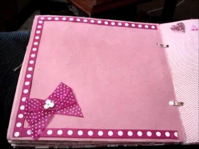 Mi Primer Mini Album Scrapbook