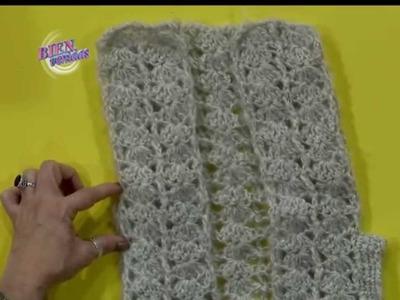 Mónica Astudillo - Bienvenidas TV en HD - Teje un chaleco al crochet
